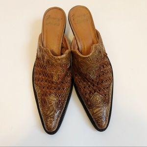 Tony Lama Mules Size 7.5